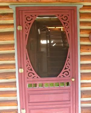 screen door sample