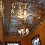 showroom tin ceiling