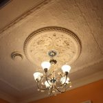 painted tin ceiling