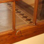 wood ventilation flap